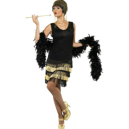 1920s Fringed Flapper Adult Costume - 1920s Couple