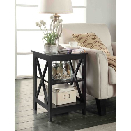 Convenience Concepts Oxford End Table (Elm Root Table)
