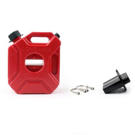 Areyourshop 3L Portable Jerry Can Gas Plastic Fuel Tank Petrol ATV UTV Motorcycle Car Gokart (Fuel Tank Plastic)