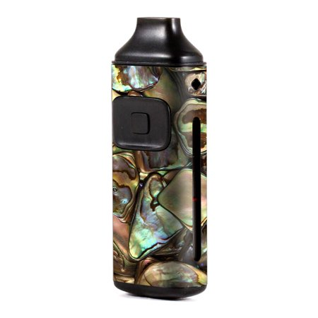 Skin Decal Vinyl Wrap for Aspire Breeze Kit Vape skins stickers cover / Gold Abalone Shell Large