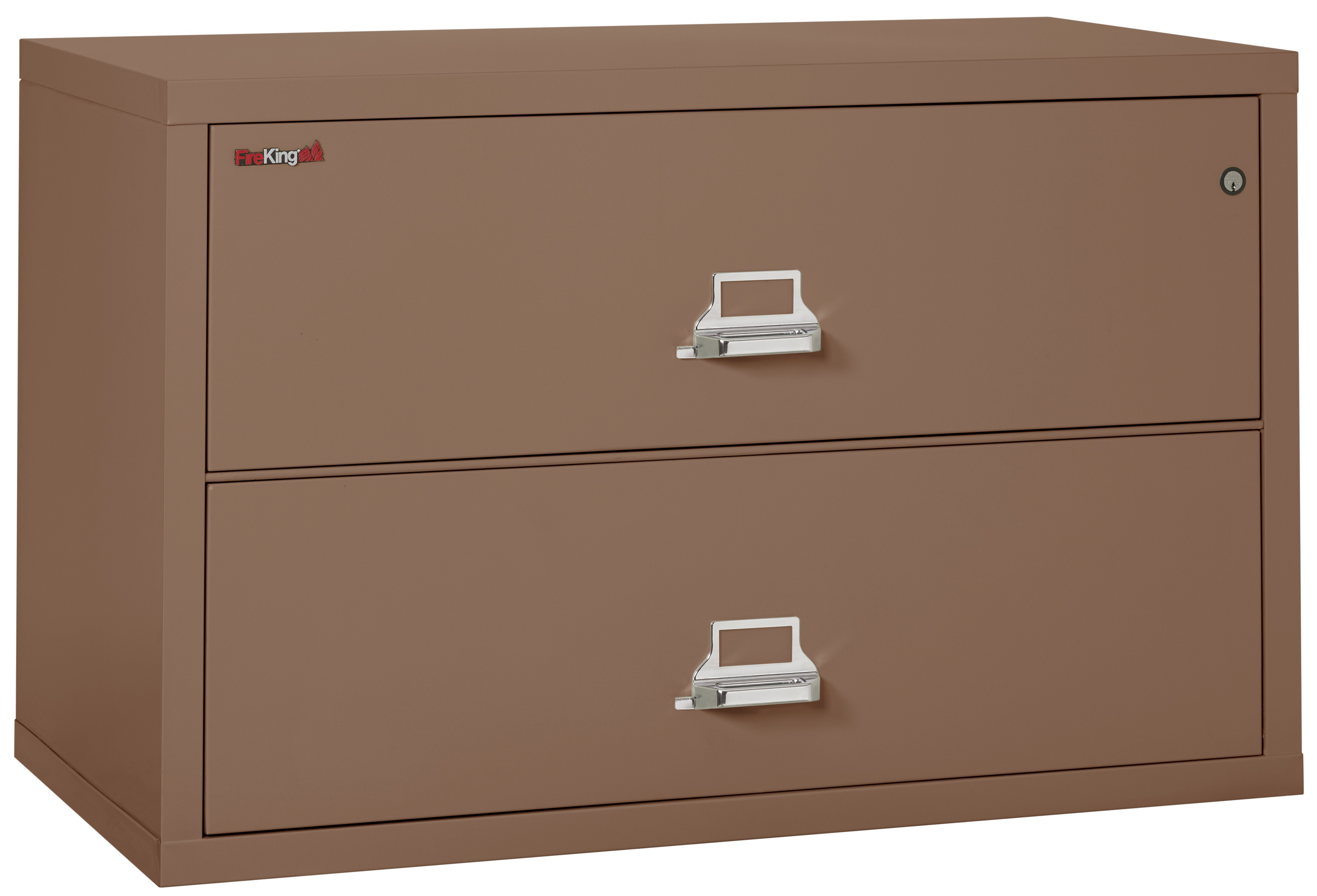 Admirable Fireking Fireproof 2 4422 Cbr Office Industrial High Security Ul Class 350 Keylock Brown 2 Drawer Lateral 44 D 1 2 Hour Fire Proof Filing Cabinet Download Free Architecture Designs Scobabritishbridgeorg