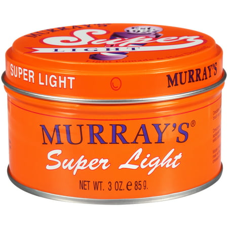 Lightweight Pomade (Murray's Super Light Pomade, 3 oz)