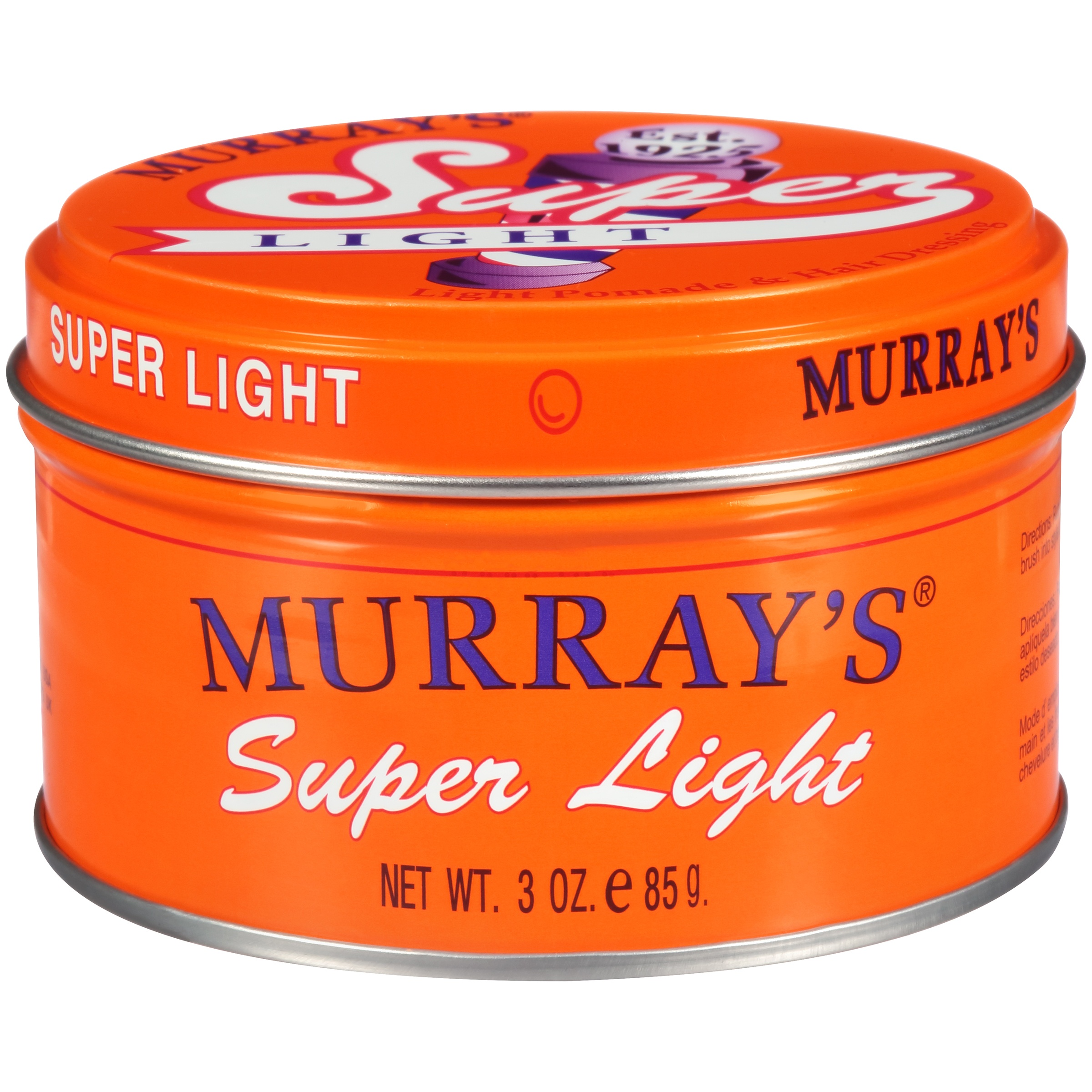 Murray's Super Light Pomade, 3 oz