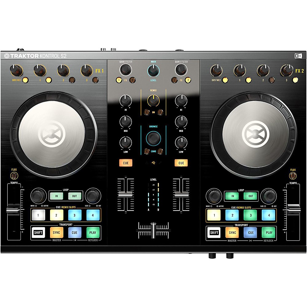Native Instruments Traktor Kontrol S2 MK2 with Lightning Cable by Native Instruments