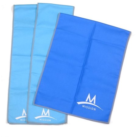 Mission Enduracool Towels - 3pc Value Pack