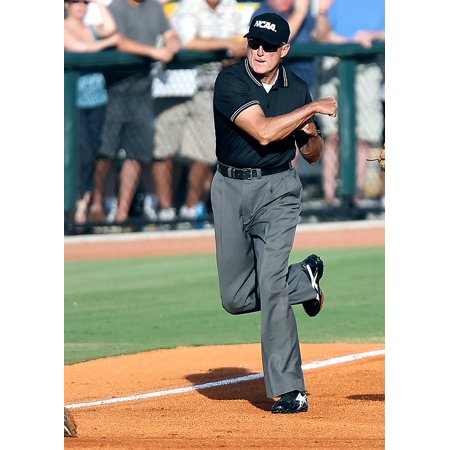 Canvas Print Out Baseball Umpire Field Umpire Baseball Call Stretched Canvas 32 x