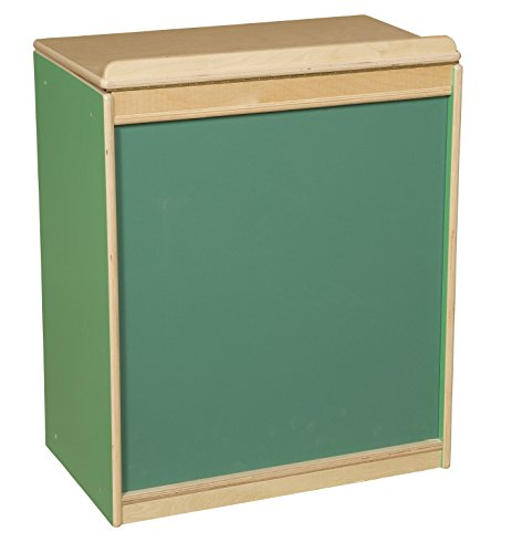 Green Apple Big Book Storage/Display with Chalkboard