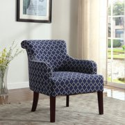 best master furnitures regency living room accent chair multiple patterns available - Accent Chairs In Living Room