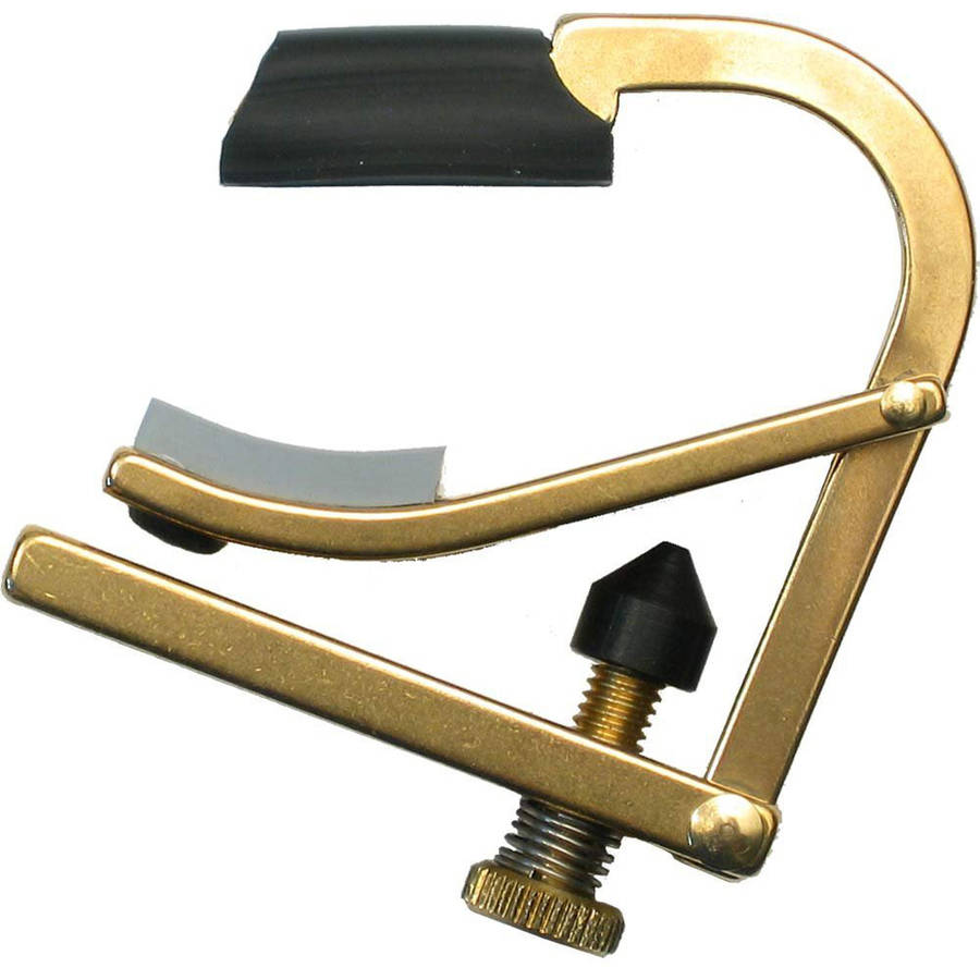 Shubb C7B Partial Capo for Guitar - Un-Plated Brass