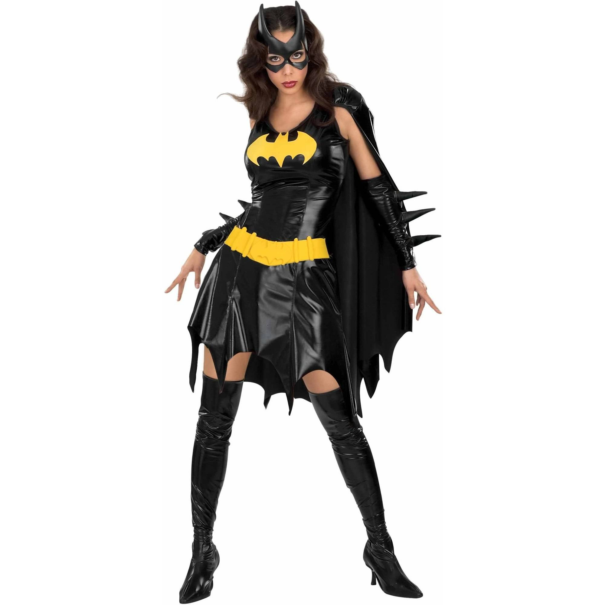 Deluxe Batgirl Adult Costume, Small (4-6)