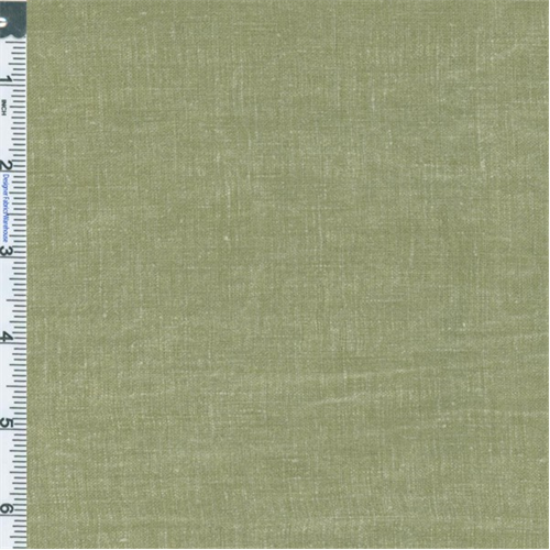 Sage Vintage Linen Drapery Fabric, Fabric By the Yard