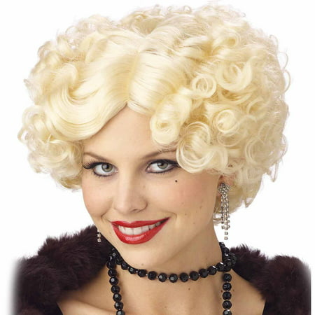 Jazz Baby Wig Blonde Adult Halloween Costume - Dumb Blonde Halloween Costume
