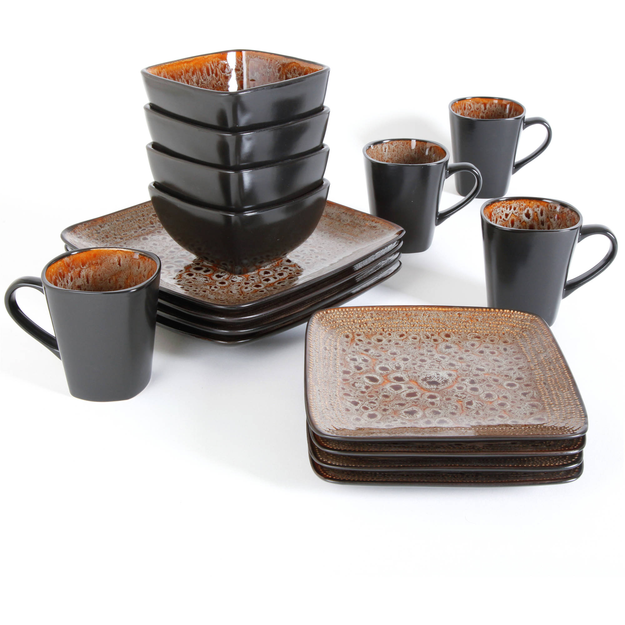 sc 1 st  Walmart & Better Homes and Gardens Atlas 16-Piece Dinnerware Set - Walmart.com