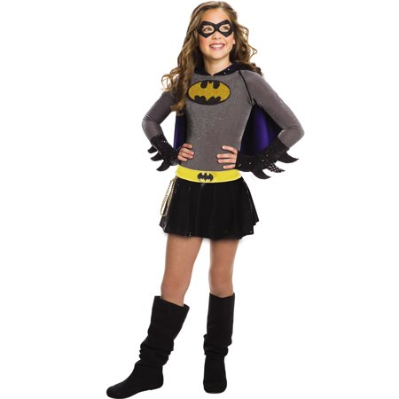 Dc Super Heroes Girls Batgirl Child Superhero Halloween Costume - Superhero Girl Costumes Halloween