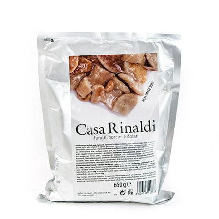 Italian Porcini Mushrooms in Sunflower Seed Oil by Casa Rinaldi (650 gram)