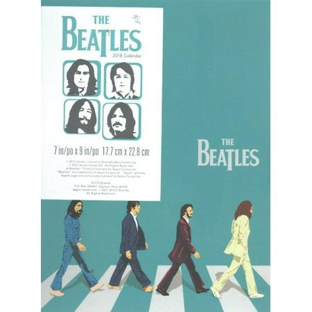 Beatles Weekly/Monthly 2018 Poly Planner Calendar