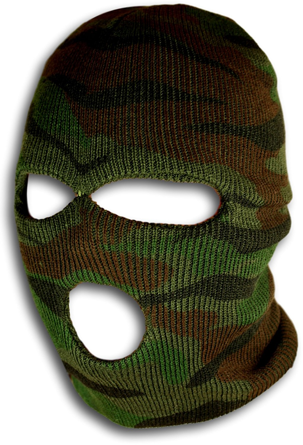 Woodland Camo Ski Mask Camouflage Gear by bogo Brands by bogo Brands
