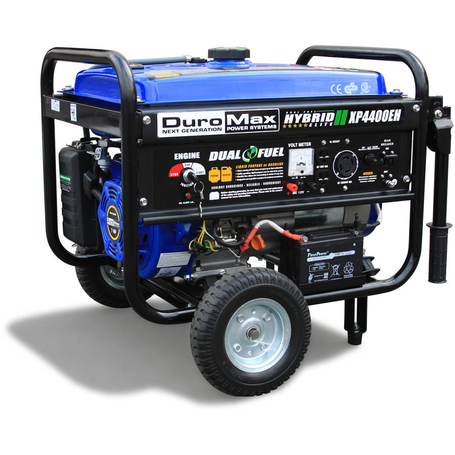 DuroMax Dual Fuel 4,400W Hybrid Propane Gasoline Generator by Generic