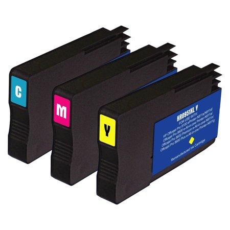 remanufactured hp 951 xl 3 pack ink cartridges for hp. Black Bedroom Furniture Sets. Home Design Ideas
