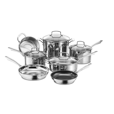 Cuisinart Professional Series Stainless Steel 11 Piece Cookware Set w/cover - 89-11