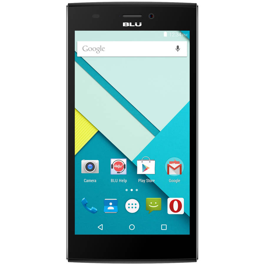 BLU Life One XL 8GB GSM 4G LTE 13MP Quad-Core Android Smartphone (Unlocked), Black
