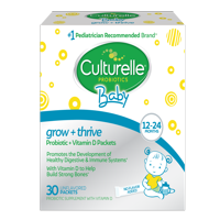 Culturelle Baby Grow + Thrive Probiotic & Vitamin D Packets, 12-24 mo., 30 ct