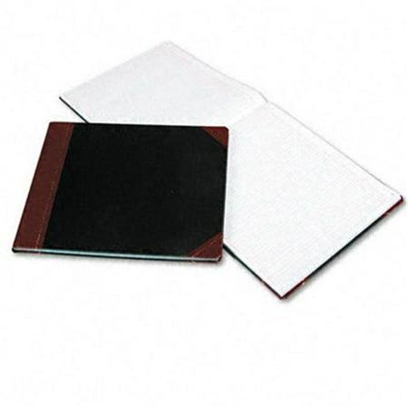 Livre - colonnes Boorum & Pease 25-150-24 - 24 colonnes - couverture noire - 150 pages - 12 7/8 x 15 1/8 - image 1 de 1