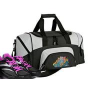 Small Crazy Cat Duffel Bag or Crazy Cat Gym Bag