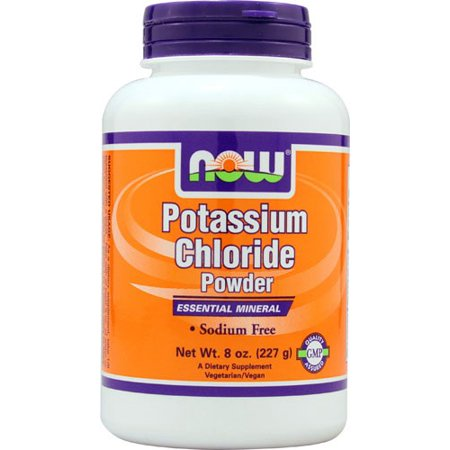 NOW Foods Potassium Chloride Essential Mineral Supplement ...