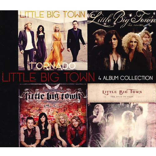 Little Big Town: 4 Album Collection (Walmart Exclusive) (4CD)