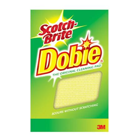 3M 56855 Scotch-Brite 720 Dobie All Purpose Cleaning Pad, 24 Pack