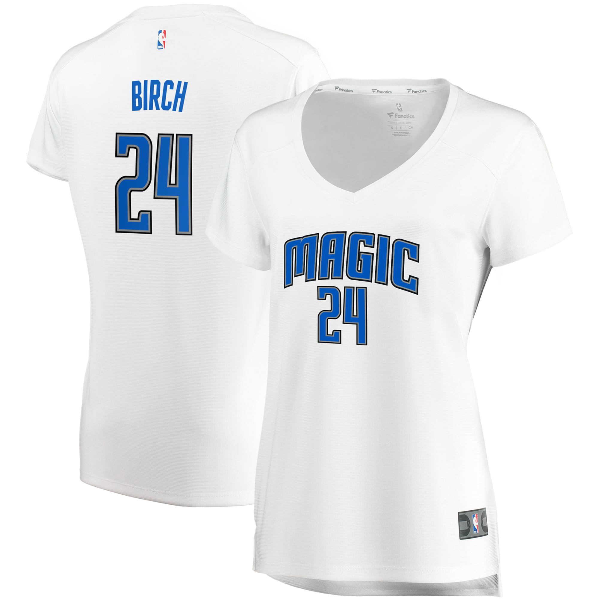 Khem Birch Orlando Magic Fanatics Branded Women's Fast Break Replica Jersey White - Association Edition
