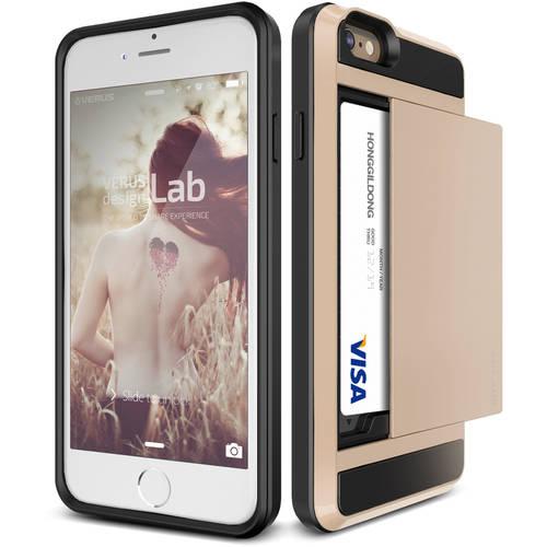 Verus Damda Slide Protective Shockproof Card Wallet Case for Apple iPhone 6/6S