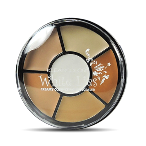 KLEANCOLOR White Lies Creamy Correcting Concealer - Full Coverage Concealer Palette