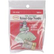 Raised-Edge Thimble-Size 6