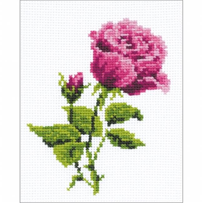 Elizabeth Counted Cross Stitch Kit - 5 x 6.25 in.