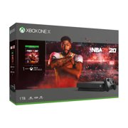 Microsoft Xbox One X 1TB NBA 2k20 Bundle, Black, CYV-00343