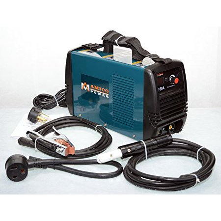 Amico 160 Amp Stick ARC DC Welder 110/230V Dual Voltage Welding Machine ()