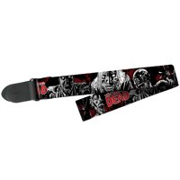 Peavey The Walking Dead Walkers Zombies Polyester Electric Acoustic Guitar Strap