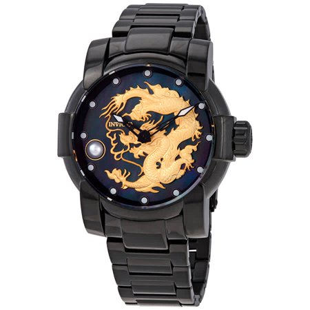 Invicta Speedway Dragon Automatic Black Dial Men's Watch -