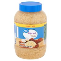 Great Value Minced Garlic in Water Family Size, 32 oz