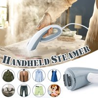 Wedlies 110V Garment Steamer Handheld Clothes Steamer Portable Home Travel Fabric Clothes Steam with 110ml Water Tank for Clothes Wrinkle Removing