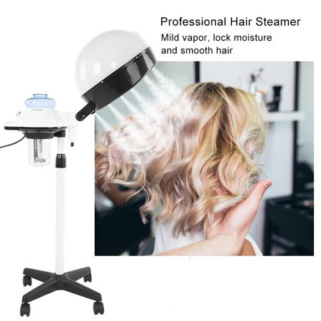 Yosoo Salon Spa Hair Steamer Rolling Stand Hooded Hair Coloring Perming Conditioning Steamer, Salon Hair Steamer, Hooded Hair (Best Hair Spa Products)