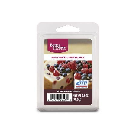 Cubeb Berry (Better Homes & Gardens 2.5 oz Wild Berry Cheesecake Scented Wax)