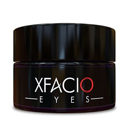 best under eye cream gel reduces puffiness bags dark circles sagging wrinkles & fine lines. pure organic all natural ingredients for men or women. contains peptides stem cells niacinamide +