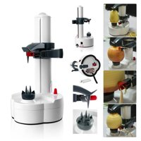 Outgeek Multifunctional Automatic Apple Potato Peeler Peeling Tool Electric Peeler Machine Kitchen Gadgets for Home