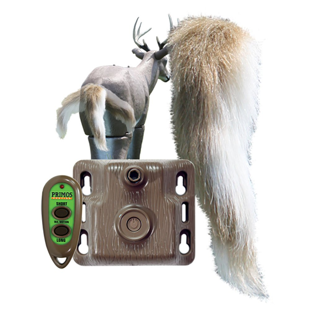 Primos Hunting Waggin' Whitetail Remote Control Motion Tail Deer Decoy | 62606