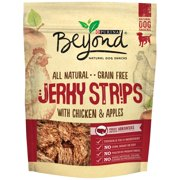 Purina Beyond All Natural Grain Free Jerky Strips With Chicken & Apples Dog Snack 9 oz. Pouch