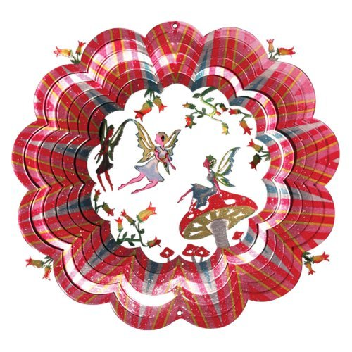 Iron Stop Designer 3D Fairy Wind Spinner