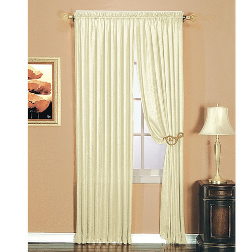 Window Accents Luster Curtain Panel